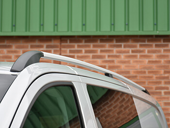 Aluminium Silver Roof + Cross Bar Set Mercedes Vito 03-14>