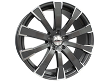 "Calibre Manhattan Gun Metal & Polished 20"" VW T5 T6 Alloy Wheels"