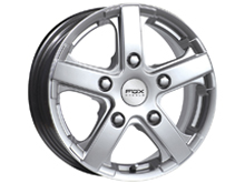 Fox Racing Viper Silver 18x7.5 5x118 Alloy Wheels Vivaro Trafic