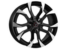 Wolfrace Assassin Black & Polished 16x7 5x114.3