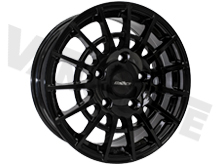 "Calibre T-Sport 18"" Gloss Black Transit Custom Alloy Wheels"