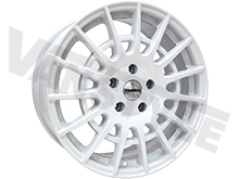 "Calibre T-Sport 18"" Gloss White Transit Custom Alloy Wheels"