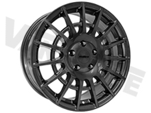 "Calibre T-Sport 18"" Gun Metal Transit Custom Alloy Wheels"