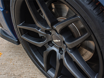 Calibre CC-U 20in 9J Matte Black - VW T5 T6 Alloy Wheel Set