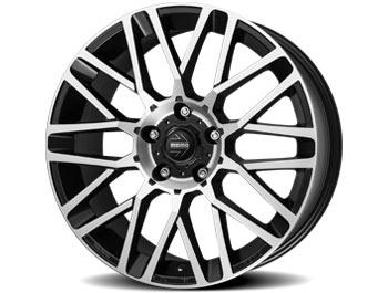 "MOMO Revenge Matte Black Diamond Cut 20"" VW T5 T6 Wheels & Tyres"