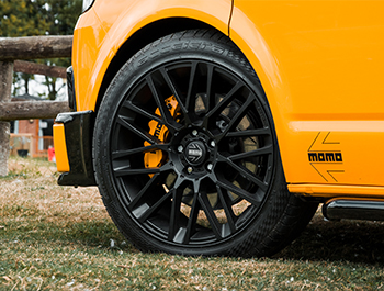"MOMO Revenge Matte Black 20"" VW T5 T6 Alloy Wheels"