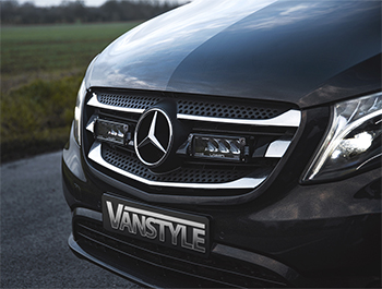 Lazer Triple-R 750 LED Spot Light Twin Grille Kit - Vito 2014>