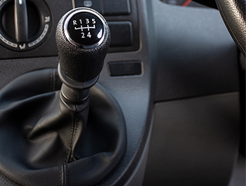 Leather Gearshift With Gaiter & 5-Speed Gear Knob Cap - T5