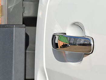 Ford Transit MK8 Stainless Steel Door Handle Covers