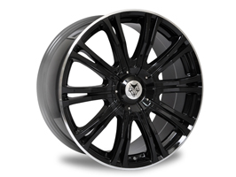 "Wolfrace Vermont Sport Gloss Black 20"" Package VW Amarok"