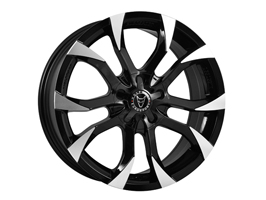 "Wolfrace Assassin Black 20x8.5"" 5x120 Set of 4 Wheels VW T5"