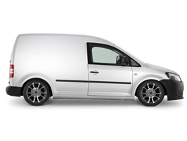 "VW Caddy 18"" Wolfrace Assassin Graphite Wheel & Tyre Package"