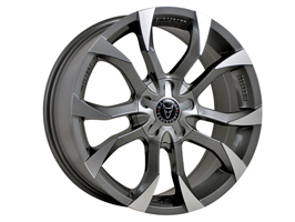 "Wolfrace Assassin Graphite 20"" Wheel and Tyre Package VW T5"