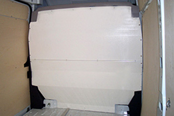Full Bulkhead SOLID For The New Ducato Boxer Relay Van Oct 2006
