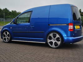 VS Styling 60mm Sidebars (No Step) VW Caddy 04-15 & 15>