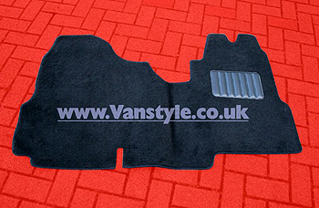 Quality Carpet & Rubber Floor Mats Ford Transit 2000 -2012