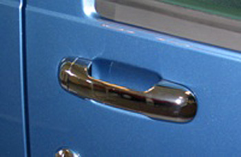 Door Handle Cover Set Stainless Steel - Ford CONNECT 2003-