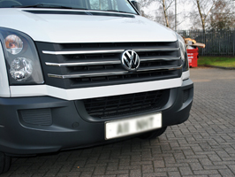 VW Crafter Stainless Steel Front Grille (Set of 5) 2012-2017