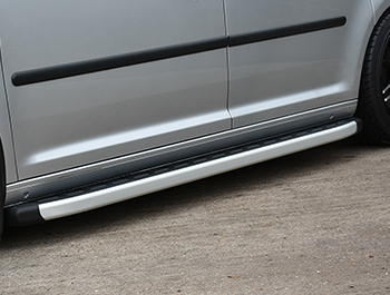 Clumber Style Aluminium Side Steps - Citroen Berlingo 97>07