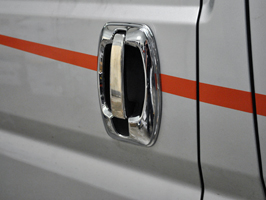 Ducato Boxer Relay Chrome ABS Door Handle Covers 06>