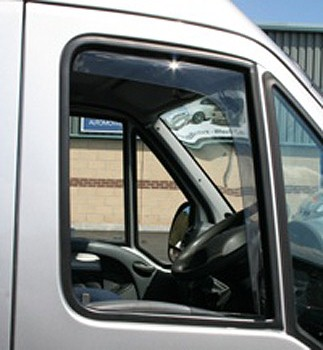 Side Wind Deflectors (Front Doors) MB Sprinter 1995-06