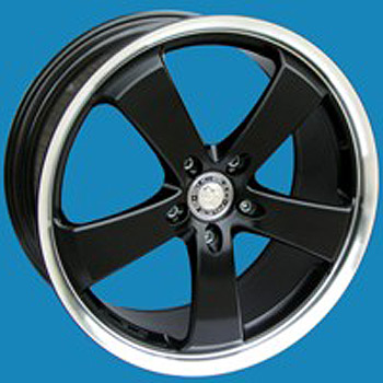 Futura Wheel 17x7.5 BLACK DIAMOND Set of 4 - VW Transporter T5 T