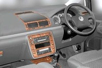 Dash Kit 25pc Alhambra-Sharan 2000-06 RHD