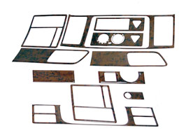 11 Piece Dash Kit, Volkswagen T5 & Caravelle Facelift, 2010>