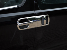 Hyundai i800 / iLOAD 4dr Stainless Steel Door Handle Covers 08>