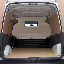 TOP Half Bulkhead WINDOW For The Vauxhall Combo Van 2001-on-