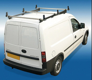 Vauxhall Combo Van PRE 2001, 3 Bar H Duty S/S Roof Rack