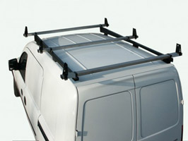 Vauxhall Combo Van, 2001 on, 3 Bar Heavy Duty S/S Roof Rack