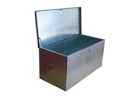 1250 X 600 X 600 Jumbo Steel Tool Box / Store, With Twin Locks