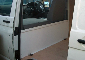 Volkswagen VW Transporter T5 Bulkhead Solid Low Height