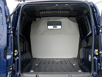 Bipper Nemo Florino NEW 2008-ON Van Full Bulkhead With Window