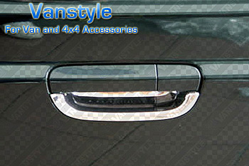 Tailgate Insert for Door Handle - ABS Chrome Vito Viano 2003-