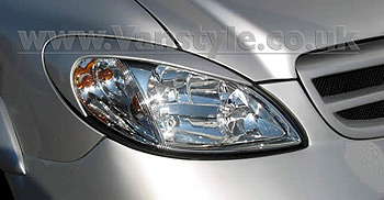 SportMAX Headlight Brows ABS Unpainted Vito Viano 2003-