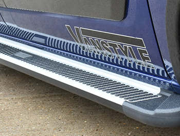 Sherwood Style Aluminium Side Step - Ford Transit Custom LWB 12>