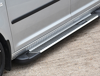 Sherwood Style Aluminium Side Step - Toyota Proace City SWB 18>