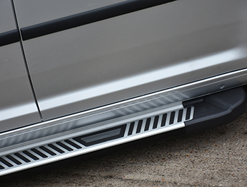Sherwood Style Aluminium Side Step - Fiat Doblo 03>09