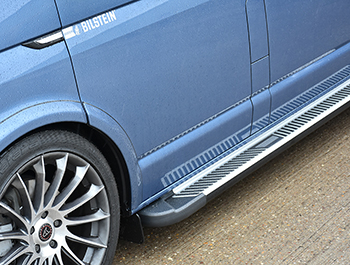 Sherwood Style Aluminium Side Step, Citroen Dispatch COMPACT 16>
