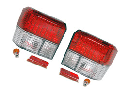Rear Light Set, Clear LED, Transporter T4 & Caravelle, 1990>03