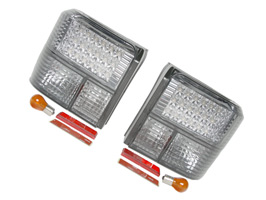 Rear Light Set, Smoked LED, Transporter T4 & Caravelle, 1990>03