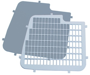 Rear Window Grilles For The High Roof Primastar, Trafic & Vivaro