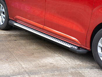 Rufford Style Aluminium Side Step - Citroen Dispatch COMPACT 16>