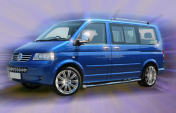 Futura Wheel 17x7.5 Superlook Set of 4 - VW Transporter T5 T28 T