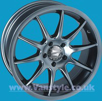 SR500 Wheel 16x7 Clearcoat Set of 4 - VW Transporter T5 T28 T30