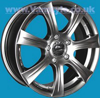 SR700 Wheel 15x6.5 Clearcoat Set of 4 - 5x108 Expert Scudo Dispa
