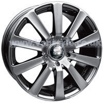 SR800 Wheel 17x7.5 Superlook Set of 4 - VW Transporter T5 T28 T3