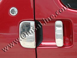Stainless Steel Door Handle Covers, Berlingo, 1996>2008